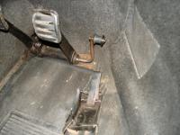 RHD pedal assembly (installed)