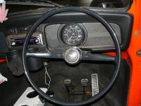 RHD dash, wheel and pedals