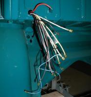 Under dash front wiring harness