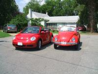 My 69 and new beetle