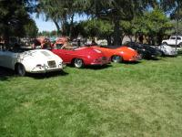 Three 58 Speedsters and Two Convertible D's