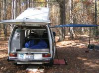 Camping with a Westy