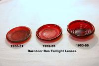 Barndoor Taillight Lenses