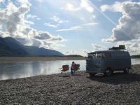 Alaska Camping in '58 Panel