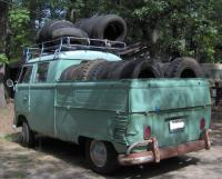 Crew Cab Loaded with tires