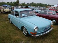 Blue late-model Notchback