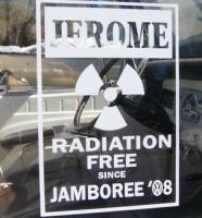 Jerome Jamboree '08 stickers!