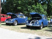 2 1967 VW Blue beetles