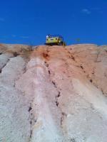 Thing climbing hill