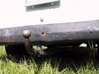 peka beetle hitch mounted to my single cab