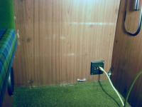 '74 Westfalia Electrical outlet