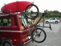 rear hatch bike mount