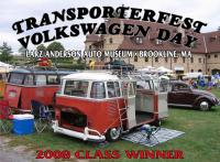 Transporterfest/VW day award plaque 2008