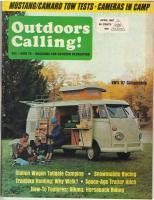 Vintage camping magazine
