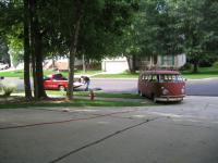 driveway ramp