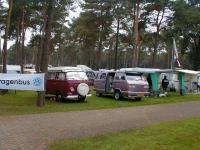 Camp site vieuw