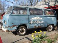 """70 Neptune Blue Kombi - the """"Piano Van"""""""