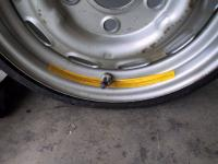 porsche space saver valve stem