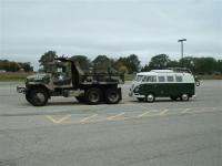 Army Truck and 67 Westy