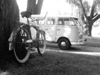 Bus and 1947 Schwinn