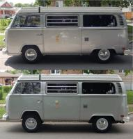 before-after lowering '78 westy