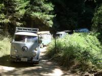 buses of roading USAL beach campout and hull mnt