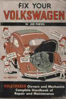 Fix Your Volkswagen-1962 edition