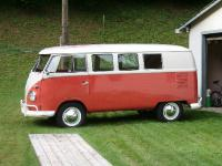 1960 OG paint Sealing Wax Red standard microbus