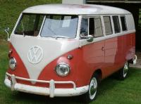 1960 Sealing Wax Red Standard Microbus OG paint