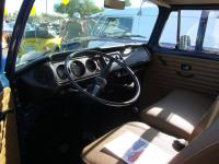 Blue Bay Window Double Cab