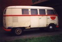 January 1955 Kombi converted to Ambulance