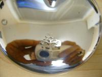 weird old clamp on VW German mirror