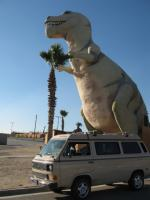 Vanagon and the dinosaurs