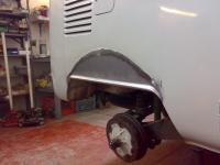 Rear wheel arch repair