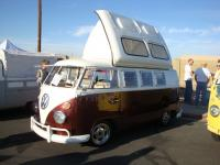 Camper with dormobile top