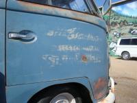 Logo'd Dove Blue Single Cab