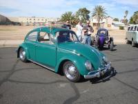 Green Beetle parking