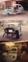 My 1958 bug(1stcar) as I redid it the first of 3 times