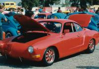Red Ghia at Fremont