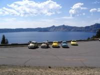 Me by my '67 at Crater Lake