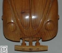 Wooden split window beetle