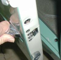 '63 driver's door latch