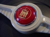 custom colored early oval hornbutton