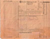 old invoice