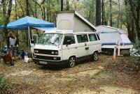 wet camping trip