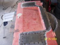 Making a 58 Eng Lid Metal tacked In