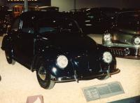 Black 1947 bug at Harrahs museum in Reno,Nv.