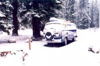 78  Blue Bus in the snow 5-13-98