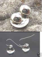 hubcap earrings