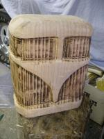 chainsaw carved splitty